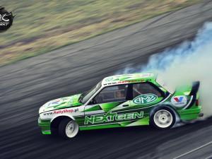 Car wrap design for PUZ Drift Team