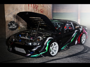 Vehicle wrap design for NISSAN S14,5