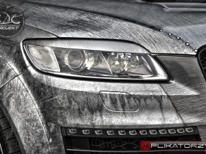 Vehicle wrap design Audi Q7 Transformers V12