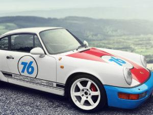 The livery design Porsche 911 Carrera 2 – Magnus Walker – style