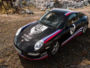 Livery design Porsche 911 Carrera 4 and logo 13