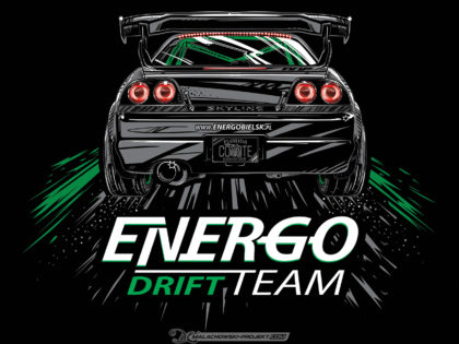 T-SHIRT Design Energo Drift Team