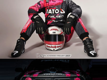 Suit design and car livery