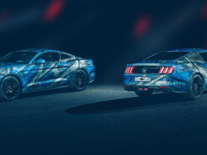 Wrap design Ford Mustang