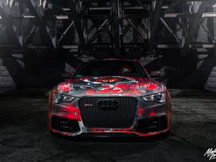 Wrap design Audi RS5
