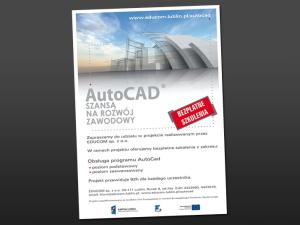 Projekt plakatu i grafik – AutoCAD Converter