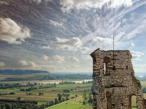 Zdjęcie zamku w Janowcu