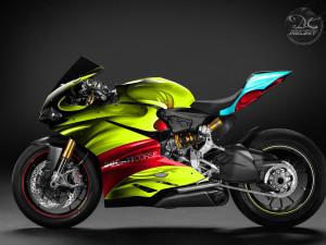 Projekt oklejenia Ducati Corse