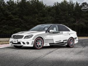 Projekt oklejenia Mercedes AMG C63