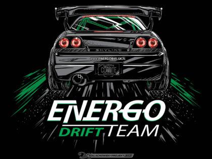 Projekt T-SHIRT Energo Drift Team