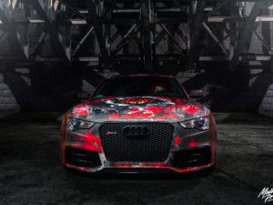 Projekt oklejenia Audi RS5
