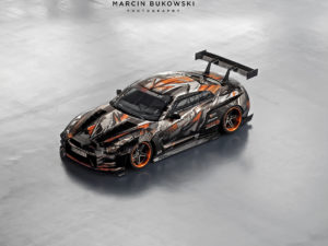 Projekt oklejenia Nissan GTR