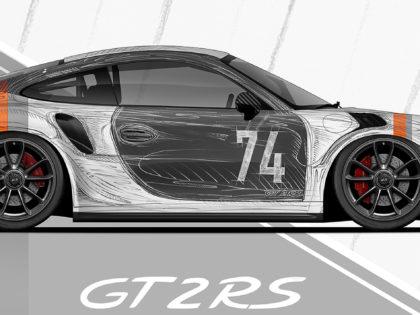 Projekt oklejenia Porsche GT2 RS
