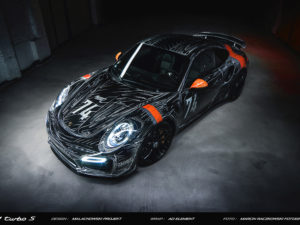 Projekt oklejenia Porsche 911 Turbo S