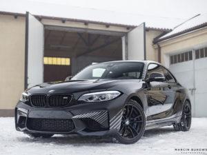 Projekt oklejenia BMW M2