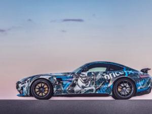 "Projekt oklejenia Mercedes GT-R dla ""STIG"" Ben Collins – Top Gear"