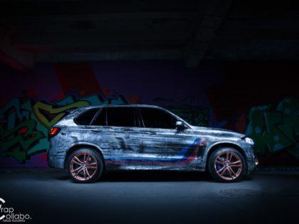 Projekt oklejenia BMW X5M
