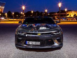 Projekt oklejenia Chevrolet Camaro – JankesCar