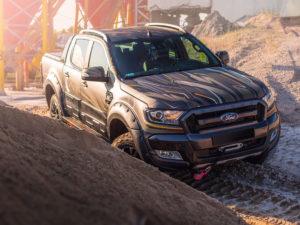 Projekt oklejenia Ford Ranger Wildtrak