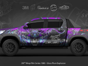 Toyota Hilux – projekt oklejenia