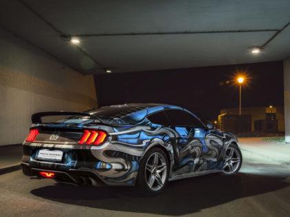 Mustang GT – projekt oklejenia