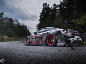 Nissan GTR projekt oklejenia