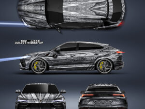 Lamborghini Urus – projekt oklejenia