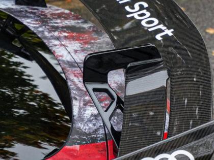 Projekt oklejenia Audi TT RS