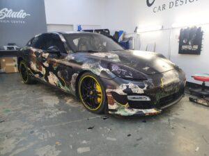 Projekt oklejenia Porsche Panamera