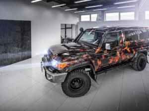 Toyota LandCruiser – wulkan